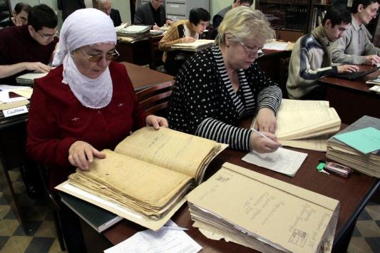 Архивная пыль казанцев не пугает