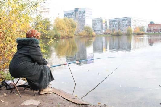 Рыбалка в песочнице
