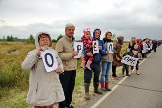 «Мы что, хуже грибов?»: жители Татарстана требуют избавить их от соседства с платной трассой М-12