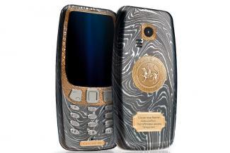 Легендарная Nokia 3310 с золотым гербом Татарстана: для тех, у кого денег куры не клюют