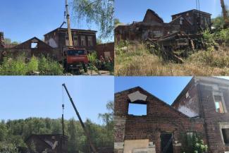 «Хотели снести втихаря»: в День Победы в Казани начали рушить очередной исторический памятник