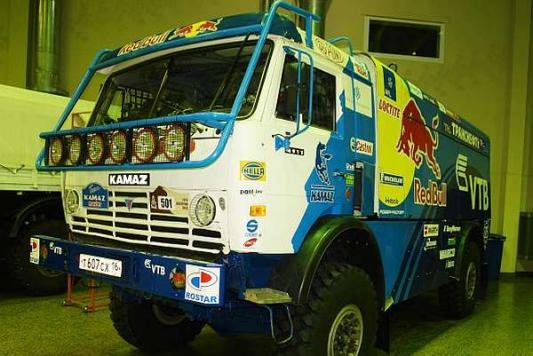 «КАМАЗ-мастер» выставил на продажу легендарный грузовик Владимира Чагина