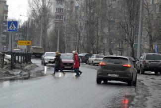 Каждый пятый водитель в Казани готов задавить пешехода