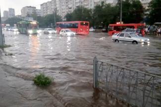 В Казани потопы — только на старых фото?