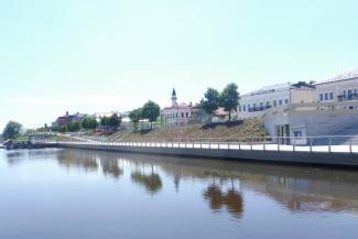 «Цветник, конечно, хорошо, но без туалета нельзя»: в Казани благоустроили новый участок набережной Кабана