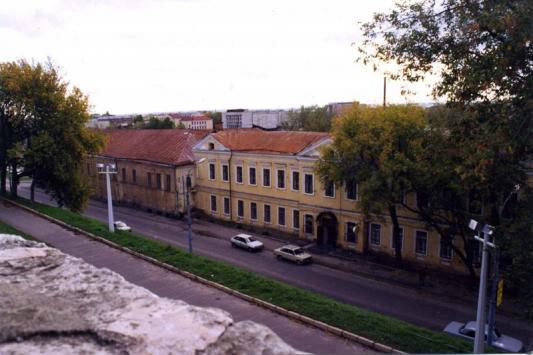 Дом бывшего журавлевского приюта, 1997 год.  Фото из архива архитектора Сергея Саначина.
