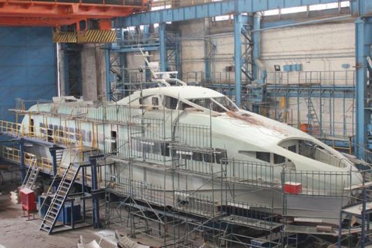 В Зеленодольске построили летучий корабль