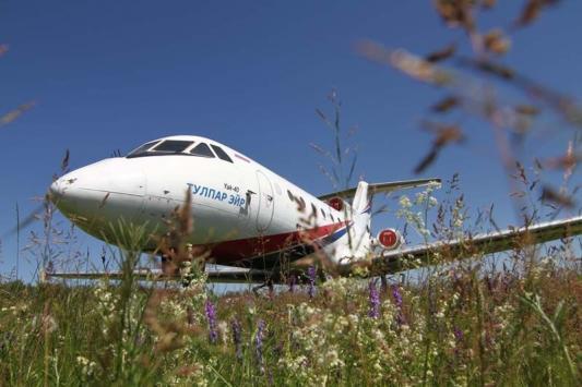 Самолет, на котором летали Гусак и Шаймиев, стал экспонатом