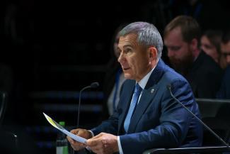 Минниханов пообещал позвонить Шувалову по поводу системного «косяка» налоговой и ПФР