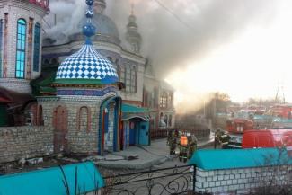 Знакомые погибшего на пожаре в Храме всех религий прораба: «Он не был похож на человека, который собирается облить все вокруг бензином и поджечь»