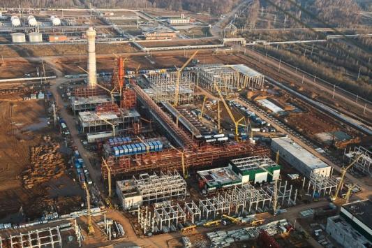 В Татарстане обокрали стройку века