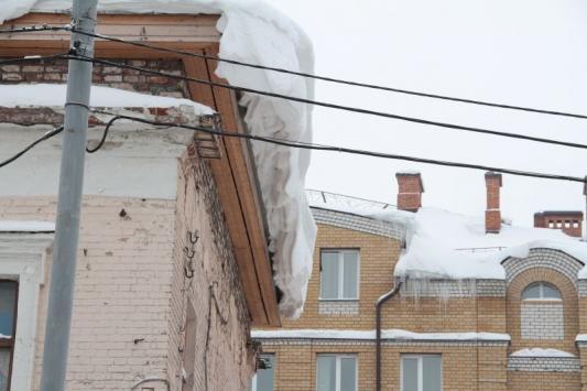 В горисполкоме нашли виновного в снегопаде