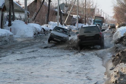 В первую очередь затопит поселок Салмачи