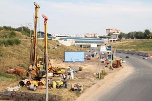 В Казани начали строить еще одну развязку и тоннель