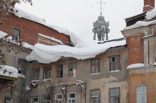 На крышах альпинисты
