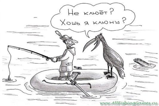 Письмо рыболова со льдины