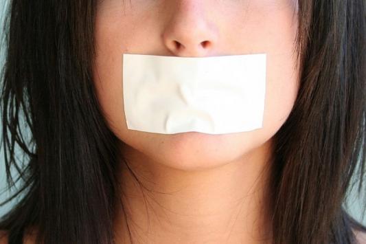 Матери рот не заклеишь!