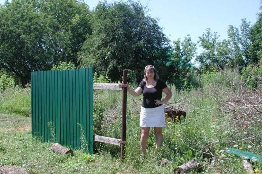 Как в Лаишевском районе забор украли
