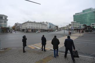«Зачем здесь эта халабуда?»: казанцев всполошила новость о появлении пешеходного перехода на Пушкина