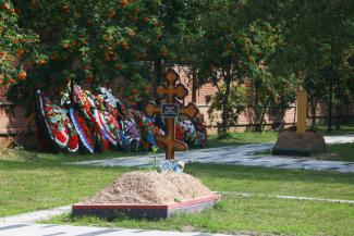 Филиал Арского кладбища в Казани, где пока только две могилы, перестали называть сквером