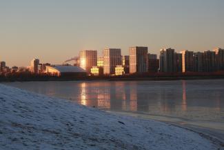 Не замерзнем: ноябрьский мороз в Казани не предвещает суровую зиму