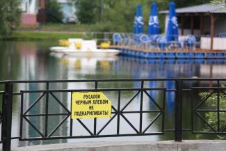 Казанцы неправильно поняли чиновников минэкологии: пивнушке на озере Большое Чуйково быть!