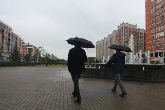 Терпите, люди, скоро бабье лето: казанцам обещают, что в сентябре потеплеет