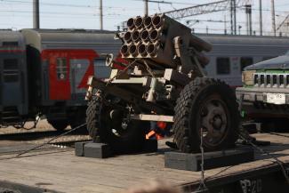 Казанцам показали, чем воюют сирийские боевики
