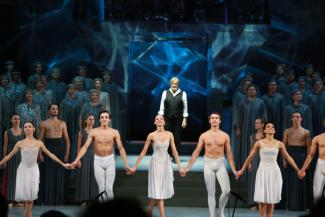 «Надо жить, остальное приложится!»: в Казани состоялась премьера спектакля легенды балета Владимира Васильева