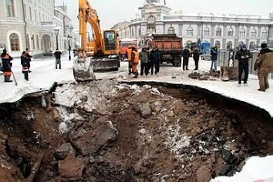 Между мэрией и Кремлем вчера разверзлась земля