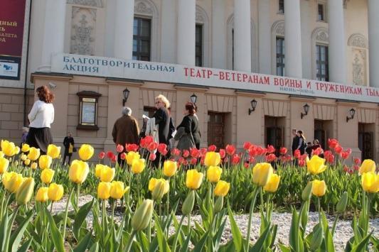 Театр имени Джалиля - ветеранам войны и труженикам тыла