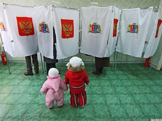 Награжден за отвагу на выборах