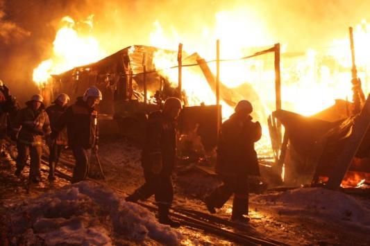 В Тетюшах заживо сгорела семья