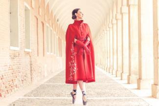 Модный пируэт: казанская балерина вспорхнула со сцены на мировой подиум