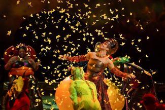 Цирк дю Солей подарит казанцам пять вечеров в компании кузнечиков, стрекоз и божьих коровок