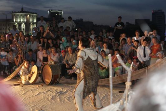 Театральный фестиваль откроют татарские рэперы