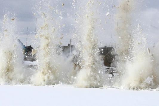 Паводок еще не начался, а потоп уже ликвидируют