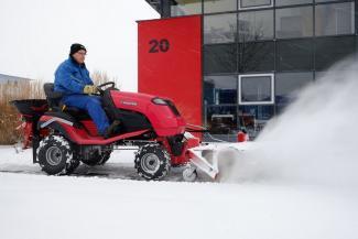 Казанских дворников, которые боятся гололеда и снегопада, частично заменят мини-трактора