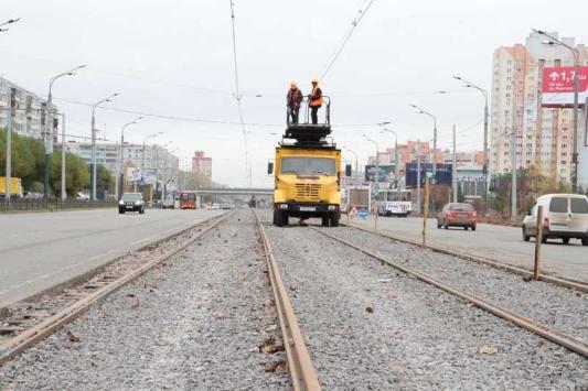Трамвай по Ямашева пустят на следующей неделе, но только до компрессорного