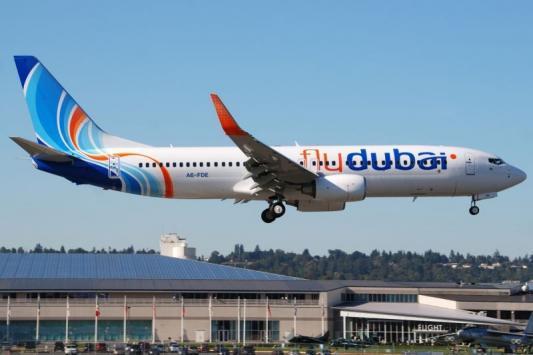 Flydubai начнет выполнять полеты в Казань