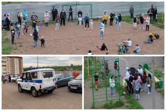 «Что за концлагерь устроили?»: в Татарстане защитников детской площадки приехала разгонять полиция