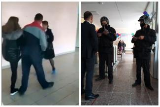 «Я им покажу поборы!»: в Татарстане многодетная мать напала с кулаками на председателя родительского комитета