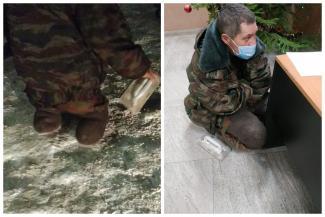 «Он им 300 тысяч в месяц приносит»: в Казани «владельцы» инвалида-попрошайки угрожают волонтеру, которая увезла его с дороги