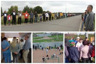 Народ против - 2020 в Татарстане: бунты из-за платной трассы М12, сотовых вышек, «ковидных» выплат и победные «обнимашки»