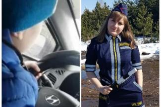 «Пусть сначала докажут, что на видео мой сын»: безбашенная мама из Челнов, которая посадила за руль шестилетнего ребенка, настроена по-боевому