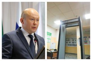 Пока экс-начальник городского управления образования сидит под домашним арестом, в 33 казанских школах нашли неработающие металлодетекторы