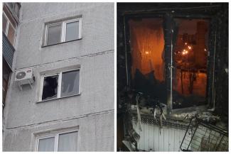 «Запретить к черту продажу этой дряни!»: в Казани залетевшая в окно ракета-фейерверк сожгла квартиру