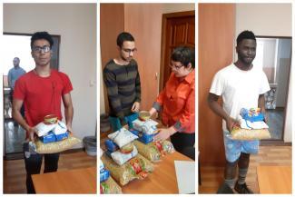 Тушенка и сгущенка на «удаленке»: в Казани спасают голодающих студентов и школьников