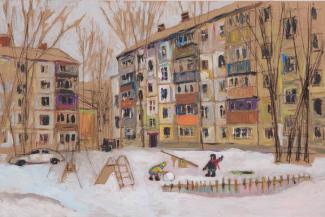 Казанский художник прославился на весь мир, воспев хрущёвки