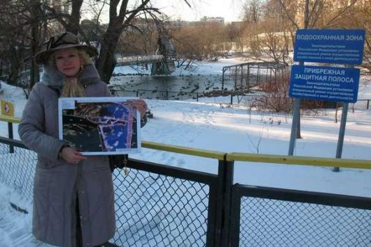 В Москве у каждого пруда есть водоохранная зона